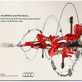 Audi汽車音響系統鑑賞盤