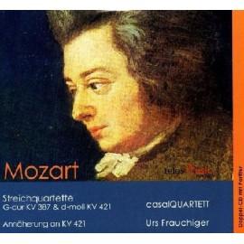 薩爾四重奏[莫扎特KV387,421]