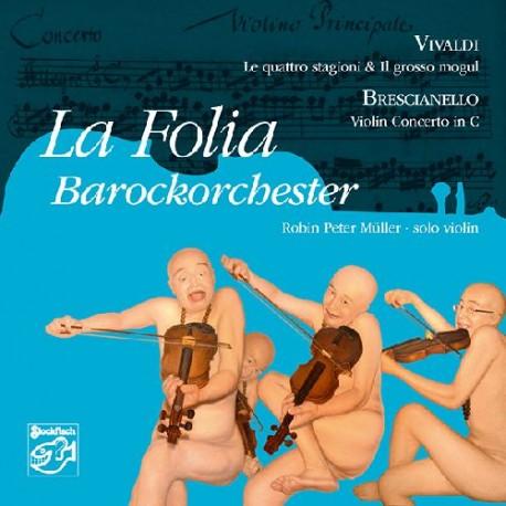 福利亞巴洛克樂團  [維瓦爾迪:四季/布瑞西安尼羅:C大調小提琴協奏曲]