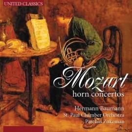 莫扎特/第1-4圓號協奏曲