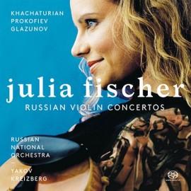 俄羅斯的小提琴協奏曲選