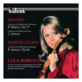 博貝絲庫 [布拉姆斯/協奏曲、諧謔曲&門德爾松/協奏曲] CD
