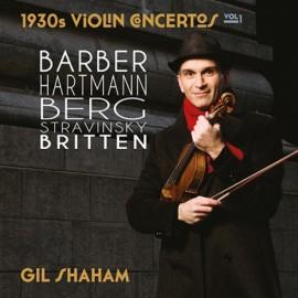 夏漢[1930s小提琴協奏曲選]系列,第1集