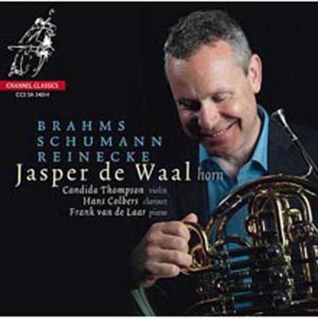 Jasper de Waal [Brahms、Schumann、Reinecke