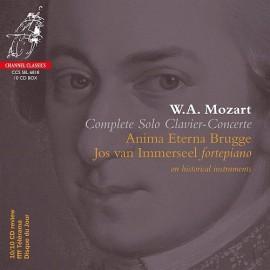 Mozart [Complete Solo Clavier-Concerte]