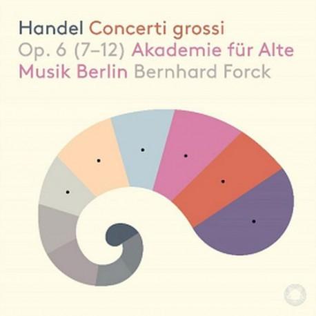 亨德爾:大協奏曲,作品编號六(第七至十二章)