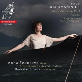 拉赫瑪尼諾夫:第一鋼琴協奏曲、前奏曲選及 帕格尼尼主題狂想曲