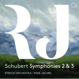 舒伯特:第二及第三交響曲