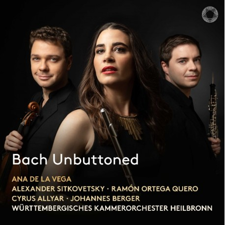 Bach Unbuttoned - Ana de la Vega