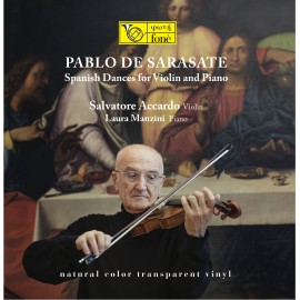 阿卡度「薩拉薩蒂:给小提琴及鋼琴演奏的西班牙舞曲作品選」LP