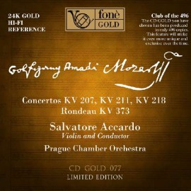 阿卡多/莫扎特的協奏曲—24K