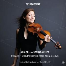 莫扎特 [第3-,5小提琴協奏曲]