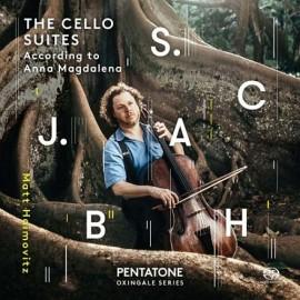 巴哈:給大提琴獨奏的六首組曲