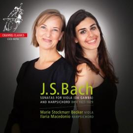 巴赫 : 為維奧拉達甘巴(中提琴版)及羽管鍵琴演奏而作的奏鳴曲,BWV1027-1029]