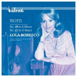 博貝絲庫:維奧蒂第22,23協奏曲 LP